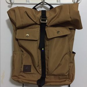 Sherpa roll top backpack